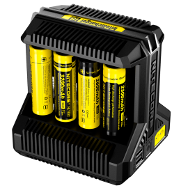 Cargador Nitecore Intellicharger New I8 Li-ion/NiMH