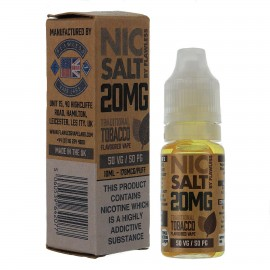 Traditional Tobacco 10ml 20mg – Nic Salt