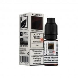 Chocolate Tobacco 10ml 20mg – Salt Element