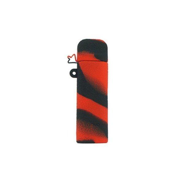 Funda silicona Novo Pod Red Black