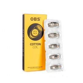 Resistencias Cotton Coil S1 0.6ohms – OBS