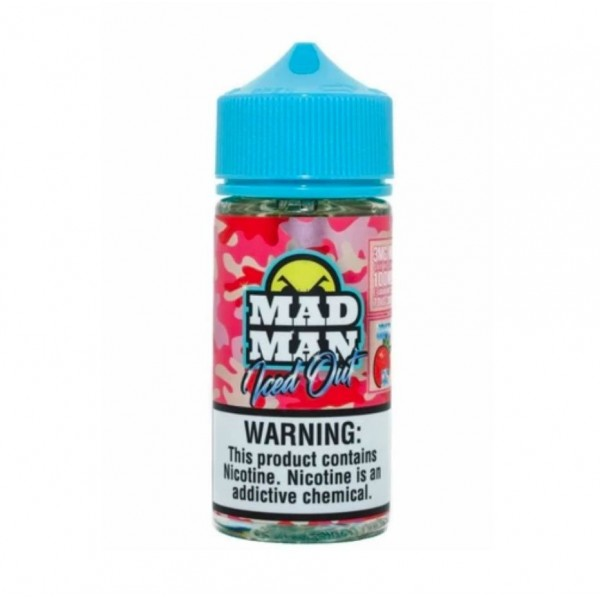 Crazy Strawberry Iced Out 80ml – Mad Man