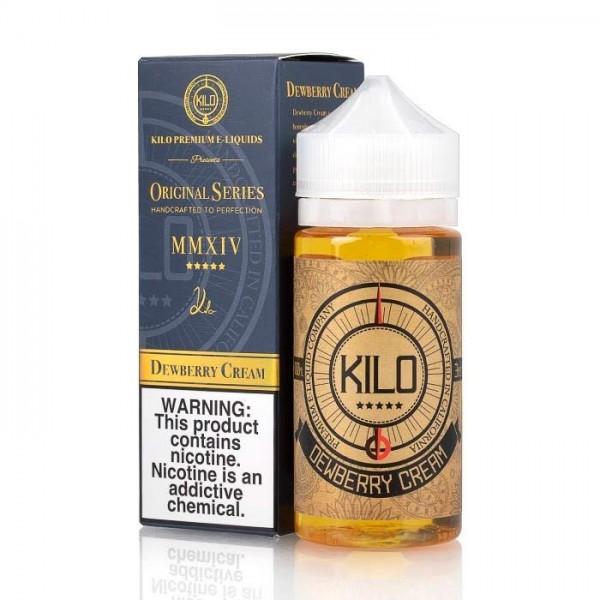 Dewberry Cream 100ml – Kilo E-liquid