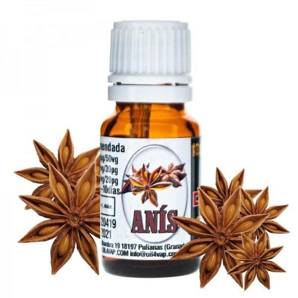Aroma Anís 10ml – Oil4vap