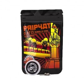 Pripyat 0.27Ohm Single (Pack 2) – Chernobyl Coils