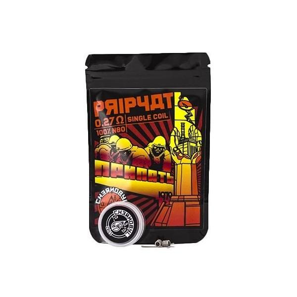 Pripyat 0.27Ohm Single (Pack 2) – Chernobyl Coils