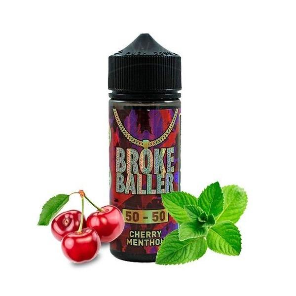 Cherry Menthol 80ml – Broke Baller Cherry