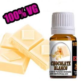 Aroma Chocolate Blanco 10ml 100% VG – Oil4vap