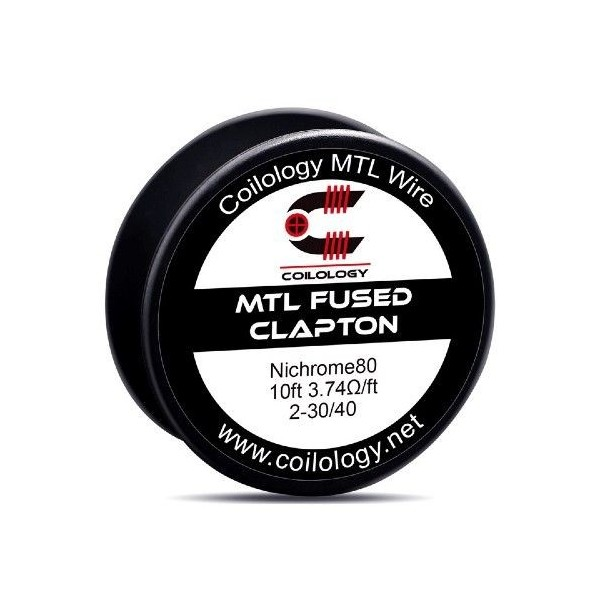 MTL Wire Fused Clapton Ni80 – Coilology