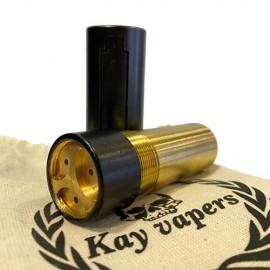 Kay Vapers 21700 Cerakota Black Mech Mod 2.5 – Kay Vapers