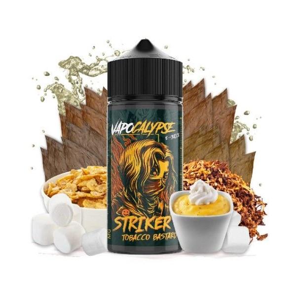 Striker Tobacco Bastard 100ml – Vapocalypse