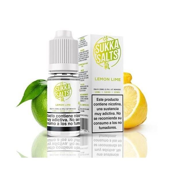 Sukka Lemon Lime 10ml 10mg – Sukka Salts
