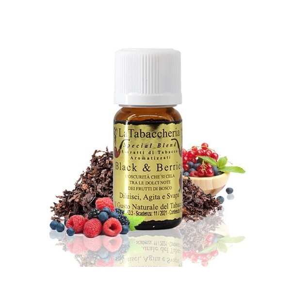 Aroma Especial Blend Black & Berries 10ml – La Tabacchería
