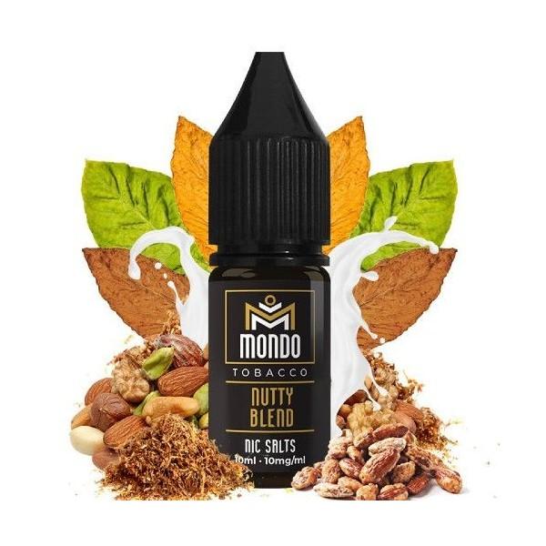 Nutty Blend 10ml 20mg – Mondo Nic Salts