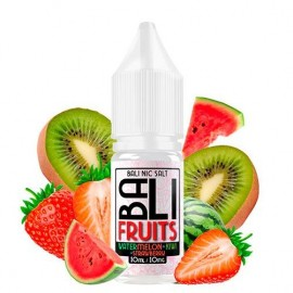 Watermelon + Kiwi + Strawberry 10ml 10mg – Bali Fruits Salts by Kings Crest
