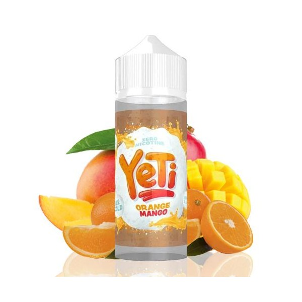 Orange Mango 100ml - Yeti Ice Cold