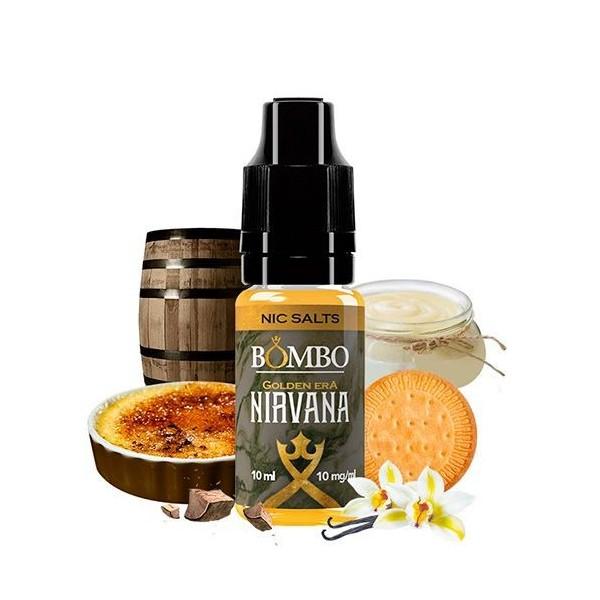 Nirvana Salt 10ml 10mg – Golden Era by Bombo