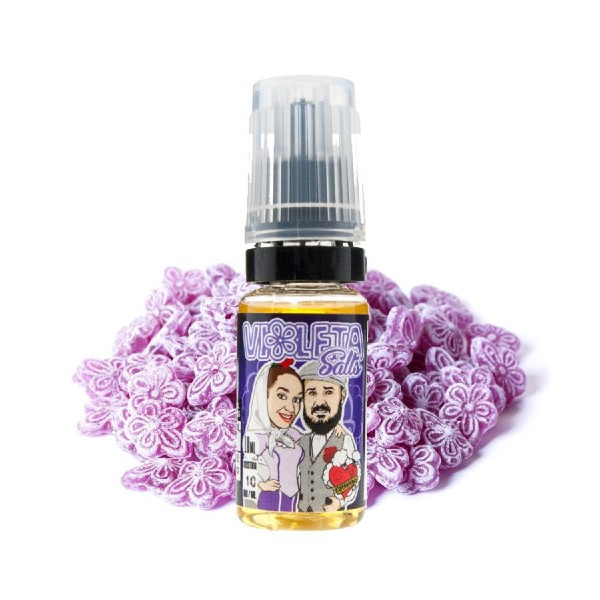 Violeta Salts 10ml – Vapemoniadas