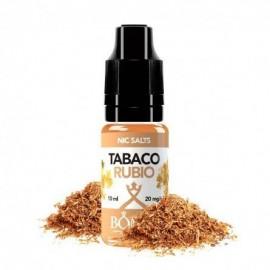 Tabaco Rubio Salt 10ml 20mg – Bombo