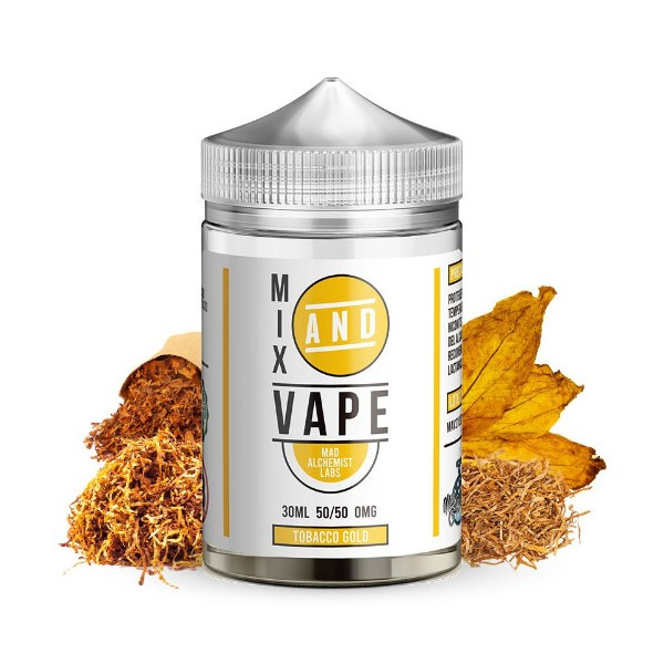 Tobacco Gold 30ml - Mix and Vape by Mad Alchemist