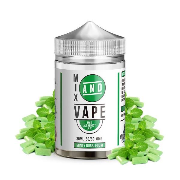 Minty Bubblegum 30ml - Mix and Vape by Mad Alchemist